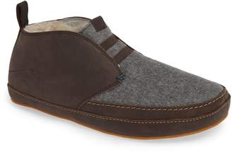 OluKai Moloa Genuine Shearling Slipper