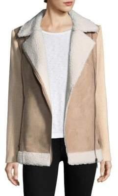 Design History Faux Fur Trimmed Jacket