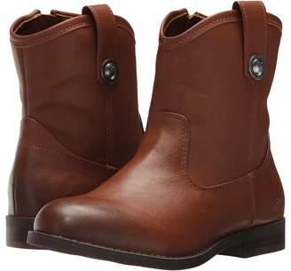 Frye Melissa Button Short Girl's Shoes