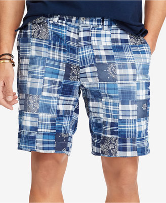 Polo Ralph Lauren Men's Big and Tall Madras Plaid Shorts $145 thestylecure.com