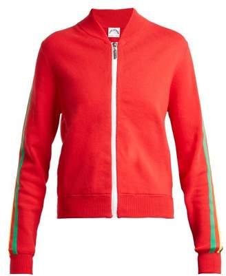 The Upside Sal striped cotton-blend jacket