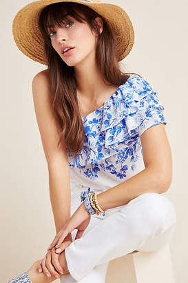 Maeve Athena One-Shoulder Blouse