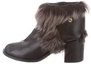 Jerome C. Rousseau Leather Ankle Boots