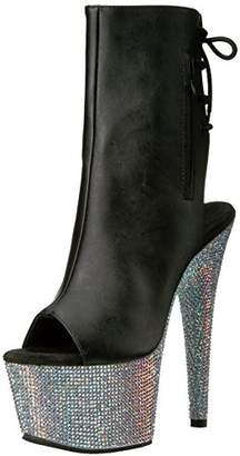 Pleaser USA Women's Bej1018dm-7/Bpu/Smrs Ankle Bootie