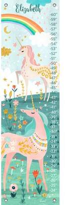 Oopsy Daisy Fine Art For Kids Magical Unicorn Personalized Growth Chart