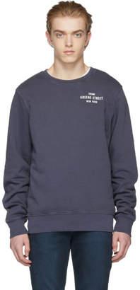 Frame Navy Vintage Sweater
