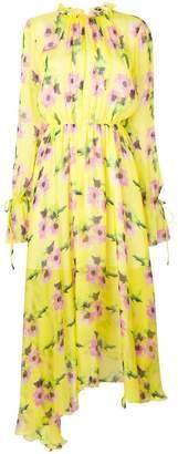 MSGM floral-print maxi dress