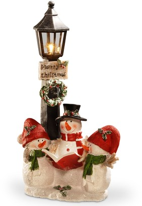National Tree Company 13-in. Light-Up Snowman Floor Christmas Decor