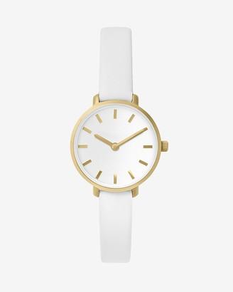 Express Breda White Beverly Watch
