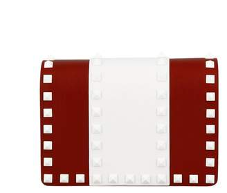 Valentino Mini Bag Rockstud Spike Free Mini Bag With Thin Colored Chain Strap