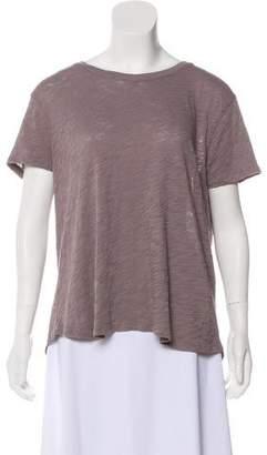 ATM Anthony Thomas Melillo Textured Short-Sleeve Top