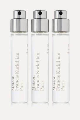Francis Kurkdjian Aqua Universalis Eau De Toilette Travel Set - Bergamot & White Flowers, 3 X 11ml