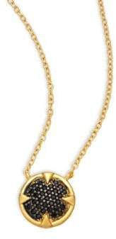 Freida Rothman Classic 14K Gold-Plated Sterling Silver Pendant Necklace