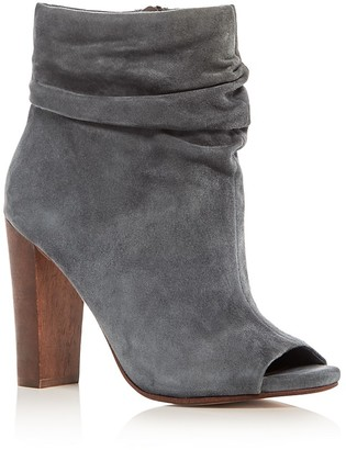 Splendid Jessika Slouchy High Heel Booties $178 thestylecure.com