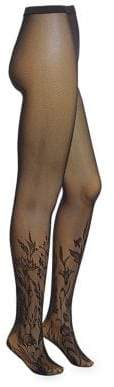 Wolford Floral Net Tights