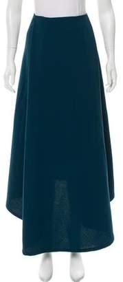 Kaarem Pleated Maxi Skirt