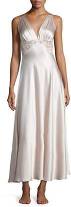 Christine Designs Antique Silk Nightgown