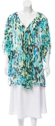 Diane von Furstenberg Silk Swim Cover-Up
