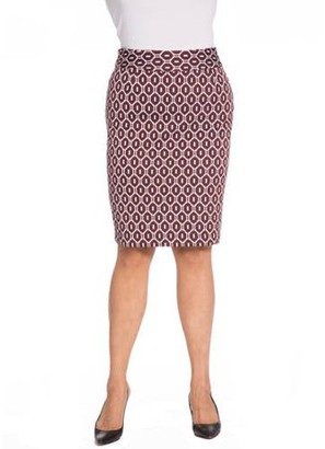 Plus Moda Women's Plus Pencil Skirt