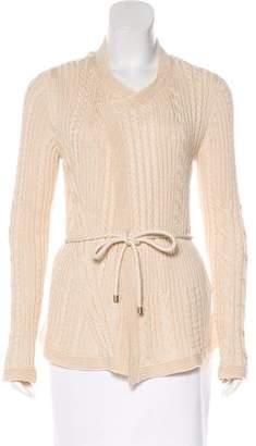 Max Mara Long Sleeve Knit Cardigan