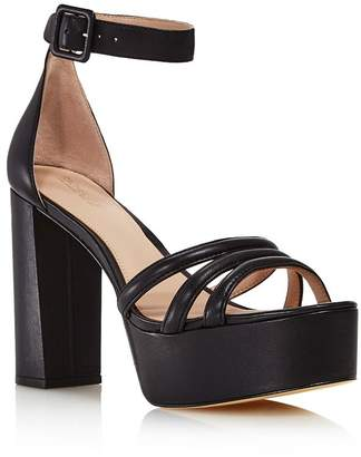 Rachel Zoe Women's Ella High-Heel Platform Sandals