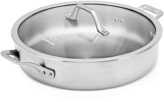 Calphalon Signature Stainless Steel 5 Qt. Sauteuse with Cover