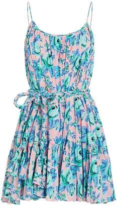 Rhode Resort Nala Printed Cotton Mini Dress