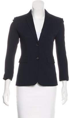 The Row Pinstripe Virgin Wool-Blend Blazer