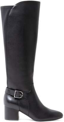 Anne Klein Honesty Leather Tall Boots
