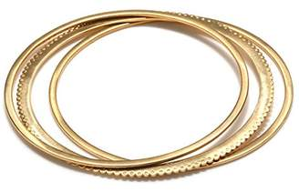 Satya Jewelry Womens Bangle Bracelet Set