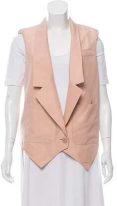 Stella McCartney Silk Notch-Lapel Vest