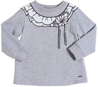 Simonetta Printed Cotton Sweatshirt