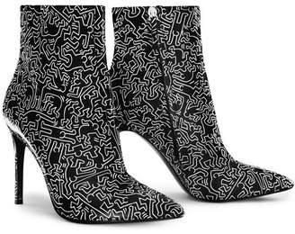 Alice + Olivia Keith Haring X Ao Razi Bootie