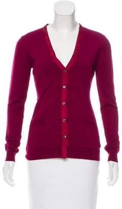 Nina Ricci Wool Knit Cardigan