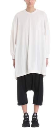 Y-3 (ワイスリー) - Y-3 Natural White Un-dyed Longline Sweatshirt