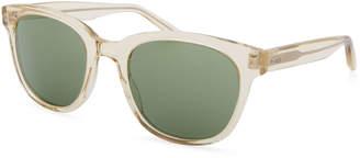 Barton Perreira Men's Thurston Rectangular Sunglasses