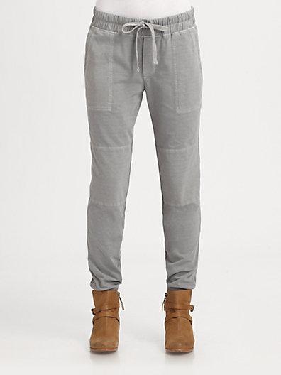 James Perse Cotton Drawstring Pants