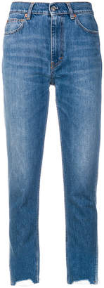 IRO distressed hem jeans