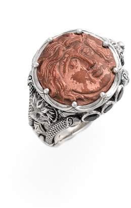 Konstantino 'Aeolous' Greek Coin Ring
