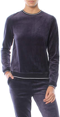 Z Supply The Velour Pullover Crew Sweatshirt