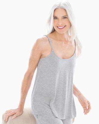 Cool Nights Pajama Swing Cami Heather Opal Gray