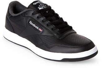 Reebok Black Club MEMT Leather Low-Top Sneakers
