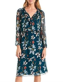 David Lawrence Ella Floral Dress