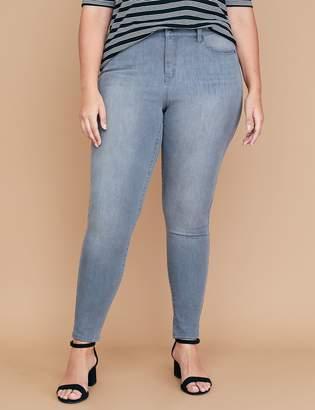 Lane Bryant Ultimate Stretch High-Rise Skinny Jean - Platinum Gray Wash