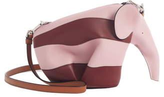 Loewe Rugby Stripe Elephant Calfskin Leather Crossbody Bag