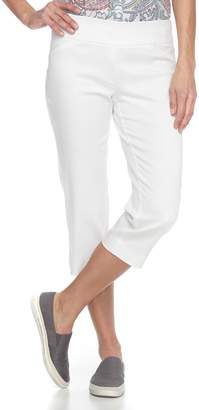 Croft & Barrow Women's Polished Pull-On Capris