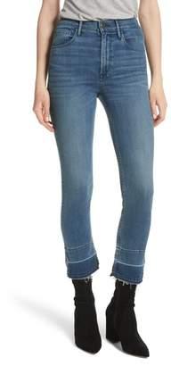3x1 NYC W4 Abigail Released Split Hem Ankle Skinny Jeans (Ady)