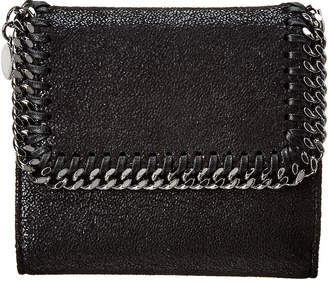 Stella McCartney Falabella Small Shaggy Deer French Wallet