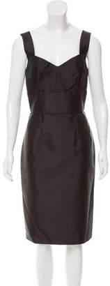 Dolce & Gabbana Silk Cocktail Dress w/ Tags