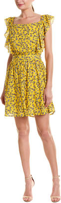 Double Zero Ditsy A-Line Dress